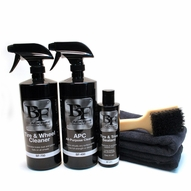 BLACKFIRE Total Trim & Tire Clean & Seal Kit