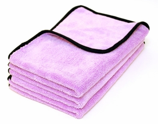 Super Plush Deluxe Microfiber Towel, 16 x 24 inches - 3 pack