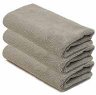3 Pack Storm Gray Edgeless Microfiber Polishing Cloth