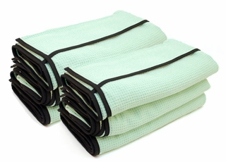 Cobra Ultimate Guzzler Waffle Weave Drying Towel, 28 x 44 6 Pack