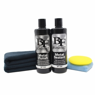 BLACKFIRE Metal Polish and Sealant Combo