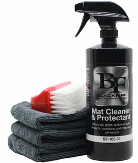 BLACKFIRE Mat Cleaner & Protectant Kit