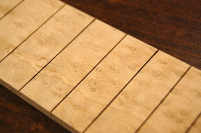 Birdeye maple fretboard