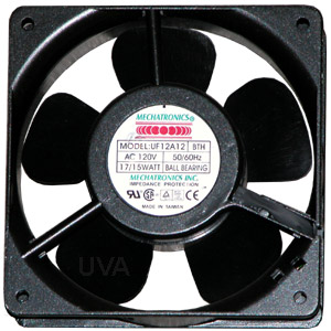 Cooling fan with wire