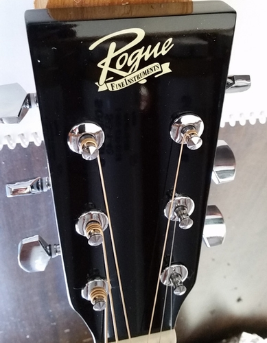 Going Rogue on an acoustic guitar