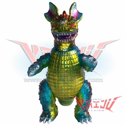 "Marmit Vinyl Paradise ""Baragon"" Custom Painted Soft Vinyl Figure"