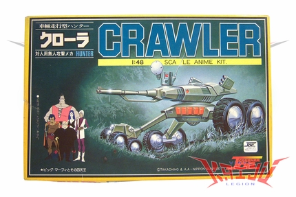 "Nitto Crusher Joe 1/48 Scale ""Crawler"" Plastic Model Kit"