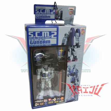 Banpresto S.C.M. AH-78-3 G-Gundam Prototype Action Figure