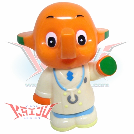 Satochan Soft Vinyl Coin Bank