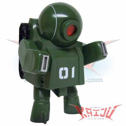 "Rumble Monsters ""Army One"" Robot Seven Soft Vinyl Figure"