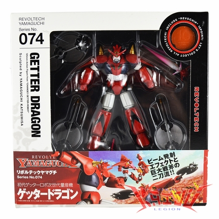 "Kaiyodo 1998 Revoltech 074 ""Getter Dragon"" Action Figure"