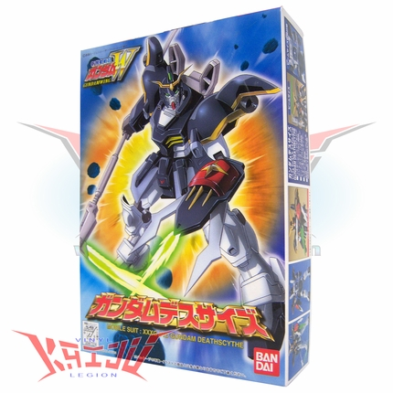 "Bandai 1995 Gundam Wing ""Deathscythe"" 1/144 Scale Plastic Model Kit"