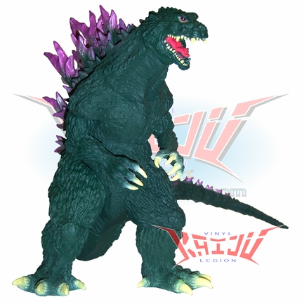 "Banpresto DX ""Godzilla 1999"" Green Version Soft Vinyl Figure"