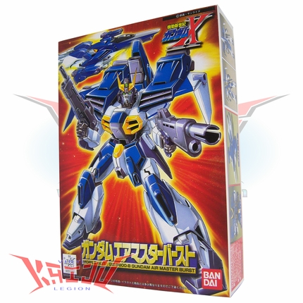 "Bandai 1996 Gundam X ""Air Master Burst"" 1/144 Scale Plastic Model Kit"