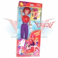 "Bandai 1997 Go Nagai ""Cutey Honey"" Kisaragi Doll"