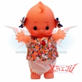 Japanese Kewpie Doll Soft Vinyl Coin Bank Figure