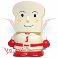 Shokupanman Soft Vinyl Coin Bank