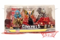 Bandai 2013 Godzilla Chibi Figure 6-Pack Mini Figures Set