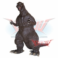 "Banpresto DX ""Godzilla 1954"" Sepia Version Soft Vinyl Figure"