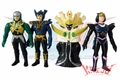 Aura Task Force Maskman Villains Soft Vinyl Figure Set