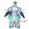 "Bandai 1998 ""G-Force Moguera"" Soft Vinyl Figure"