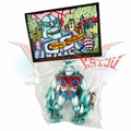 "Planet X Asia ""Mini Mecha-Goliathon"" Teal/Green Soft Vinyl Figure"