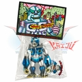 "Planet X Asia ""Mini Mecha-Goliathon"" Blue/Silver Soft Vinyl Figure"