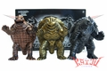 Bandai 2006 Gamera Tribute HMV Exclusive Soft Vinyl Figure Set