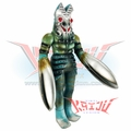 "Bandai 1984 ""Baltan Seijin"" Big Scale Soft Vinyl Figure"