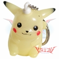 Pokemon Pikachu Glow In The Dark Keychain Figure