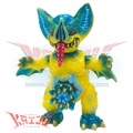 Paul Kaiju Mini Mockbat Yellow Custom Soft Vinyl Figure