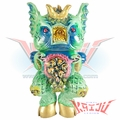 "Naomi Knaff Planet X Asia ""La Morrttt"" Green Hell Custom Soft Vinyl Figure"