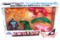 "Bandai 1998 Gingaman ""Starbeast Squadron"" Soft Vinyl Figure Boxed Set"