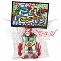 "Planet X Asia ""Mini Mecha-Goliathon"" Red/Silver Soft Vinyl Figure"