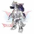 "Bandai 2002 Mechagodzilla ""Kiryu"" With Battle Pack Soft Vinyl Figure"