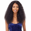 Naked Nature Unprocessed Remy 100% Human Hair Wet & Wavy Lace Front Wig - DEEP CUR