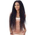 FREETRESS EQUAL SYNTHETIC DRAWSTRING HAND-TIED LACE PART WIG - MERMAID LOC