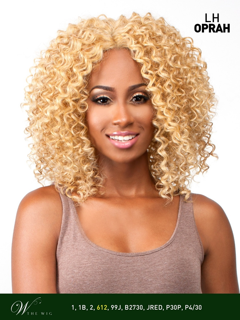 The Wig Brazilian Human Hair Blend Invisible Deep Part