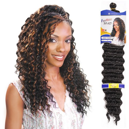 Freetress DEEP TWIST 22""