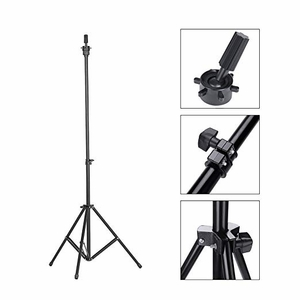 Wig Mannequin Head Tripod Stand with Carry Bag Hairdressing Training Head Holder for Cosmetology