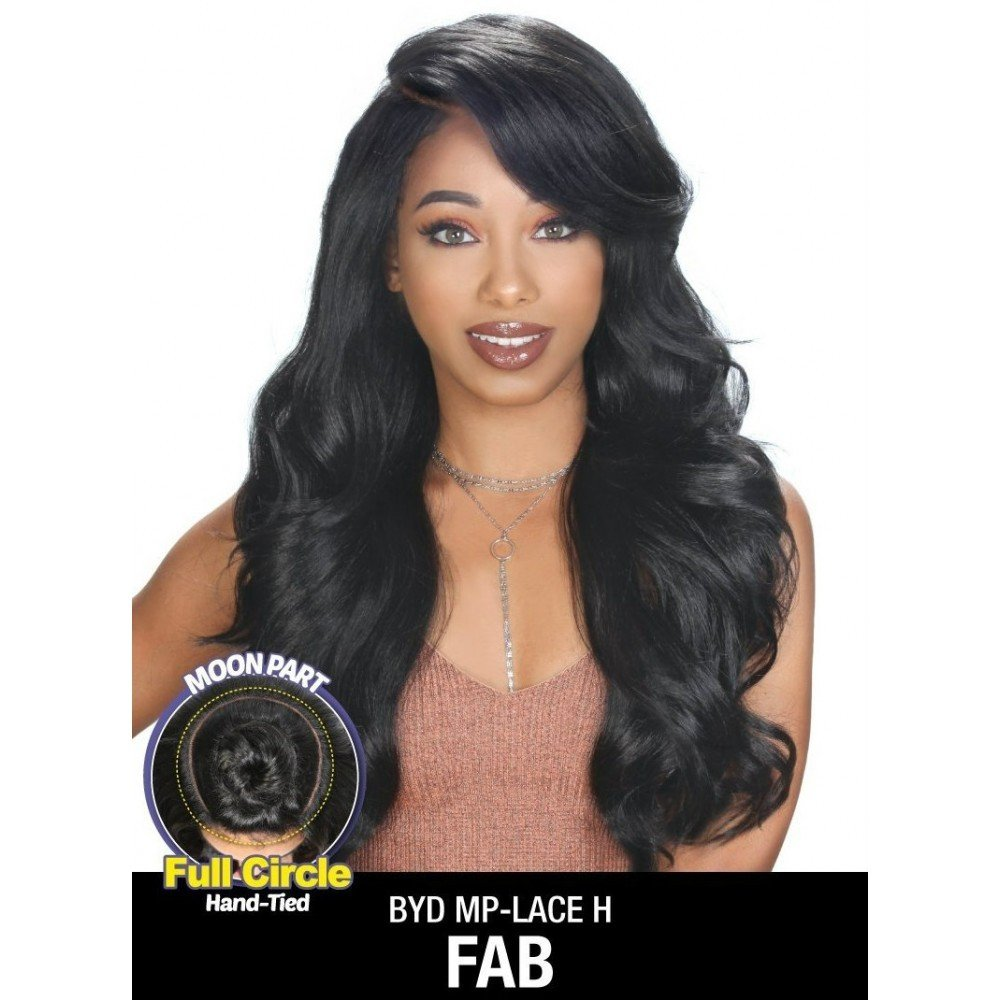 Zury Sis Synthetic Beyond Full Circle Moon Part Lace Front Wig - H FAB