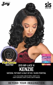 Zury Sis Synthetic Beyond Full Circle Moon Part Lace Front Wig - H KENZIE