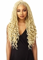 Sensationnel Synthetic Cloud 9 4x4 Part Swiss Lace Front Wig - GODDESS LOCS (1 Jet Black)