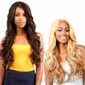 brazilian Human Hair Blend Lace Front Wig