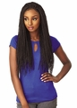 Sensationnel Synthetic Cloud 9 4x4 Part Swiss Lace Front Wig - SENEGAL TWIST