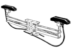 P-80-VT3       80A Tandem Collector (Double Shoe) - Vertical Mount Systems
