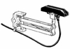 P-40-V3       40A Single Collector Shoe/Arm Assy - Vertical Mount Systems