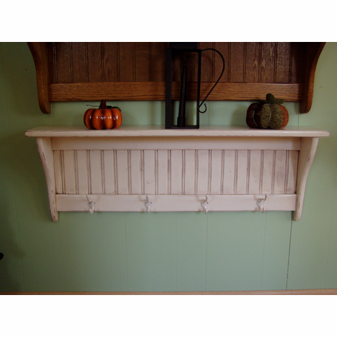Distressed Country Coat Rack