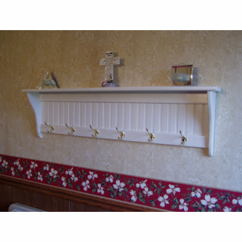"48"" Wall Hanging Coat Rack"
