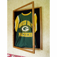 Jersey Display Case Oak